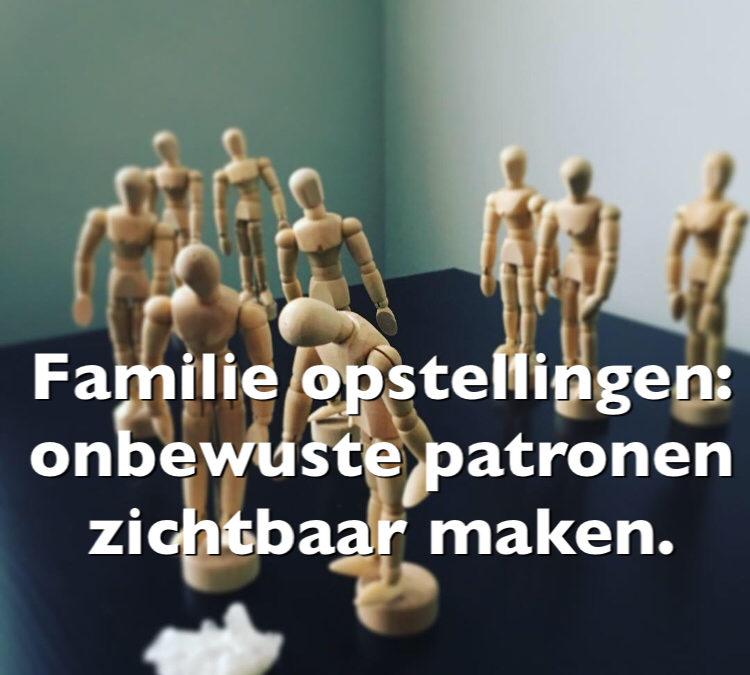 Famillie opstellingen: onbewuste patronen zichtbaar maken.