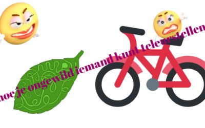 I want to ride my bicycle…over een fietsrit, verwachtingen en teleurstellingen…