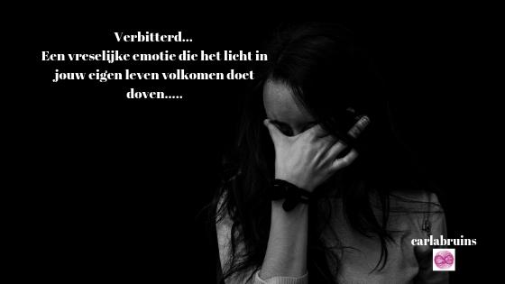 Verbitterd…